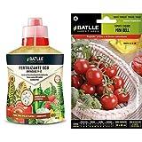 Semillas Batlle Abonos Ecológicos Fertilizante 400ml + Hortícolas Tomate Cocktail Tipo Cherry