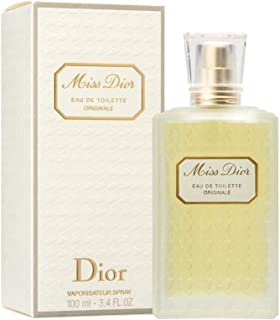 Miss Dior Originale By Christian Dior For Women. Eau De Toilette Spray 3.4 Oz.