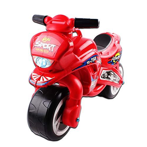 deAO Moto Cavalcabile Bici Senza Pedali per Bambini Aiuta a Migliorare l'Equilibrio