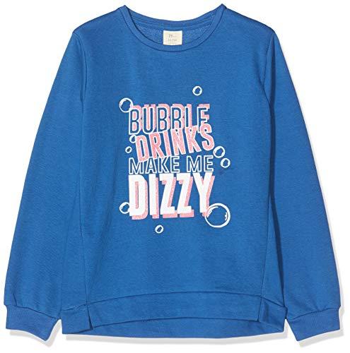 ZIPPY Sudadera ZY, Azul (Classic Blue 19/4052tc 751), 3 años (Tamaño del Fabricante:2/3) para Niñas