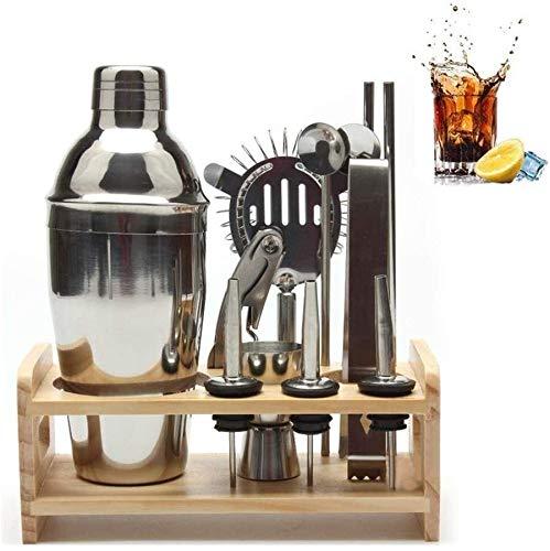 LNNZPL 12st Drink Bar Kits Wein-Krug for Küche Brewing Holzregal Shaker Professionelle Cocktail Mixer Barmixer-Werkzeug-Set Verschleißfestes wasserdichtes Kit (Color : 250ml)