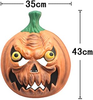 LFOZ Halloween Mask EVA Novelty Cosplay Costume Party Horror Mask -30×30cm (Color : B)