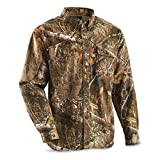Guide Gear Men's Button Front Hunting Shirt, Realtree Edge, 3XL Tall