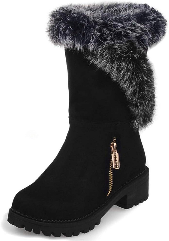 DecoStain Comfort Winter Snow Warm Soft Mid Calf Boots