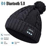 HANPURE Bluetooth Mütze Damen, Bluetooth kopfhörern Strickmütze, Geschenke für...