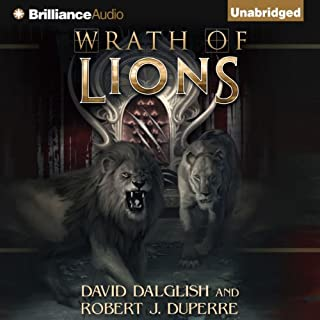 Wrath of Lions audiobook cover art