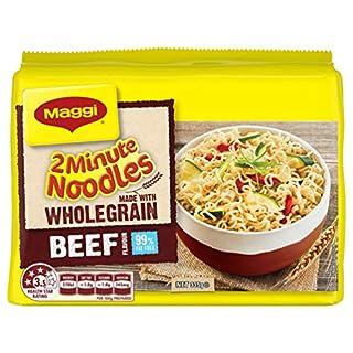 MAGGI 2 Minute Noodles, Wholegrain Beef, 5 Pack, 335g (B07F7MHTS1) | Amazon price tracker / tracking, Amazon price history charts, Amazon price watches, Amazon price drop alerts