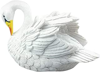 YUNIAO Water Simulation swan,Decoy Floating White Swan Resin Simulation for Landscape Gardening Decoration,Kid's Toy,Floating Resin Simulation swan
