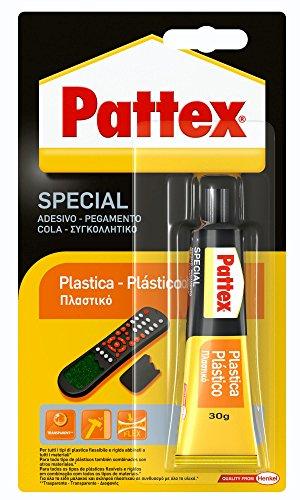 Pattex Pegamento para plástico transparente, resistente al agua, 1 x 30gr