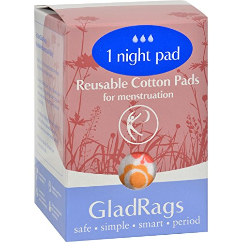 Nighttime Pads Color Glad Rags 1 Pack