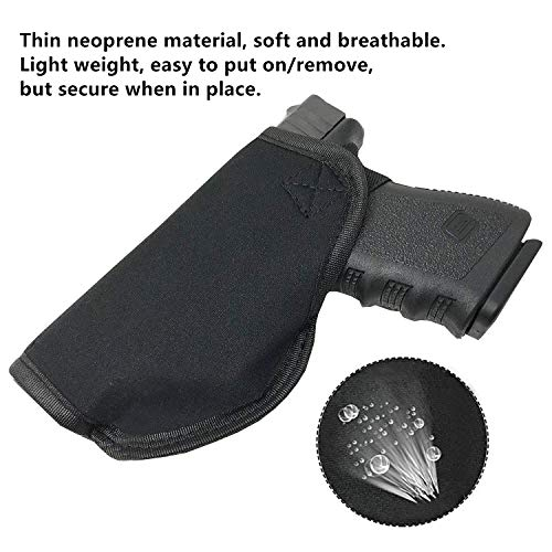 5. Tacwolf 3 Pack Universal IWB Holster Magazine Pouch for Concealed Carry