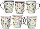 Ritzenhoff & Breker Kaffeebecher-Set Doppio Shanti, 6-teilig, Porzellan