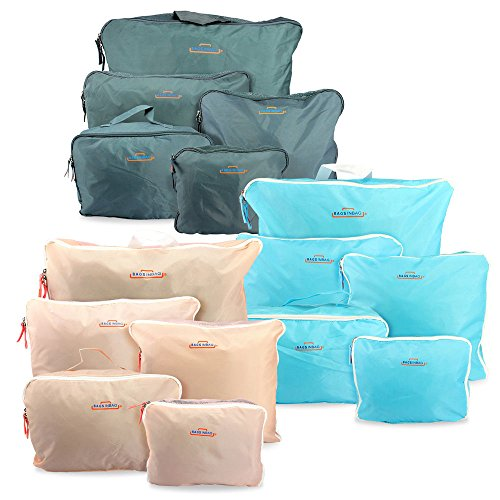 The Best 5PCS Waterproof Clothes Travel Storage Bags Packing Cube #DDTY