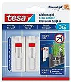 Tesa 77764-00000-00 Clavo adhesivo ajustable, 3 kg, Set de 2 Piezas