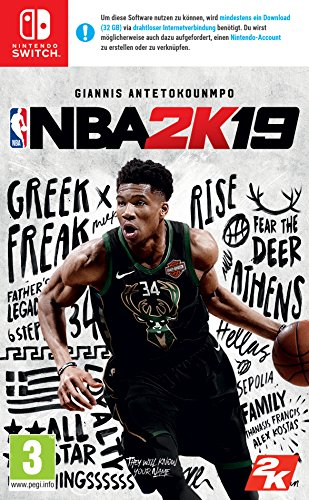 NBA 2K19 Standard Edition [Nintendo Switch] [AT-PEGI]