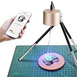LaserPeckerレーザー彫刻機 1600mW 小型レーザー刻印機 手軽 高性能高解像度 DIY道具 加工機 無線Bluetooth/iOS/Android/USB接続用 使用寿命連続10,000時間以上 色々な素材 ギフト 保護メガネ付き アプリ操作 7つの特許取得済み Lifbetter