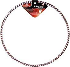 Joerex Hoola Hoop for Exercise,1 Section Design-Professional Soft Fitness Hoola Hoop By Hirmoz - SIZE: XXL, Φ90CM, multi-c...
