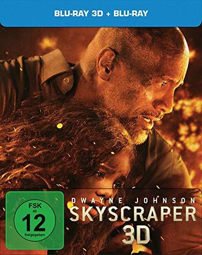 Skyscraper Blu Ray 3D und 2D, limitiertes Steelbook Blu Ray