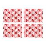 Amosfun 500 Piezas Turrón Envoltorios de Caramelo Corazón Impreso Cera Torsión Caramelo Caramelo Papel Lolly Hornear Papel de Regalo para La Boda del Día de San Valentín