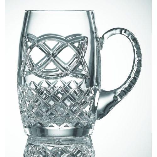 Galway Crystal Celtic Beer Tankard