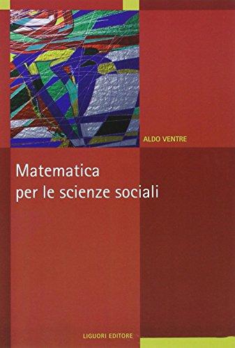 Matematica per le scienze sociali