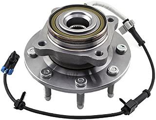 WJB WA515058HD Heavy Duty Version Front Wheel Hub Bearing Assembly Cross Timken SP580310 Moog 515058 SKF BR930416, 1 Pack