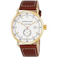 Hamilton Khaki Navy Analog Display Swiss Automatic Brown Men's Watch (H77745553)