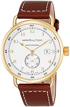 Hamilton Khaki Navy Swiss Automatic Brown Men's Watch