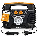 Portable air Compressor Electric tire Pump with Analogue Pressure...