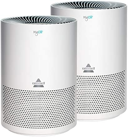 Bissell MYair 2 Pack Purifier with High Efficiency and Carbon Filter for Small Room and Home product image