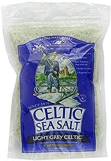 Best Light Grey Celtic coarse sea salt, 1 lb. bag - Pack of 2 Review