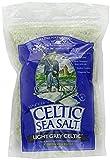 Celtic Sea Salt Sal marina céltica gris clara gruesa. Bolso 2 paquetes