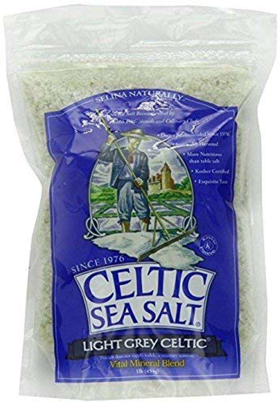 Light Grey Celtic coarse sea salt, 1 lb. bag - Pack of 2 omqwubpzzrz959