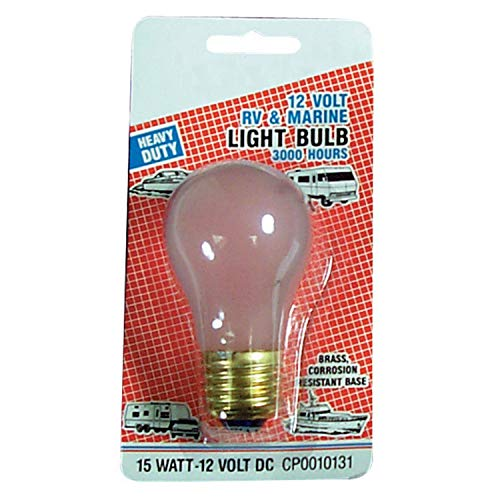 Camco 54890 Replacement A-15 Oven Type Light Bul