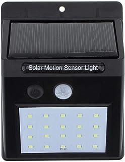LED Solar Power PIR Motion Sensor Wall Light Outdoor Waterproof Street Yard Path Home Garden Security Lamp 20 LEDs