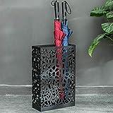 SIMNO JIAHONG Soporte de Paraguas de Paraguas domésticos Personalizados paragüero de Forma Creativa el Soporte básico multifunción paragüero 30 * 12 * 45cm Paragüero Estante