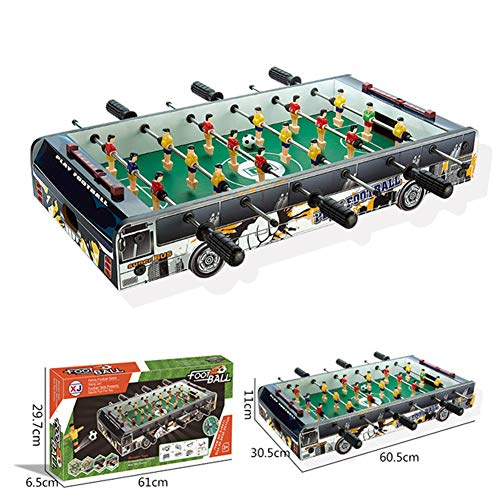 Lowest Price! Aizihan Foosball Table, Tabletop Games and Accessories Mini Size Soccer Tabletops Comp...