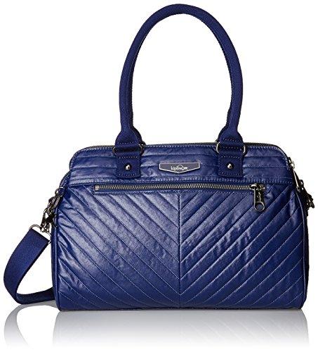 Kipling Damen SUNBEAM Henkeltasche, Blau (Shiny Blue), 32x24x15 cm