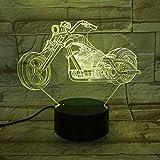 Luces nocturnas de Motocicleta Luces de Cambio de Color Ruedas Grandes Carreras de Motocicletas Luces portátiles Amigos Niños Niños Luces de cumpleaños