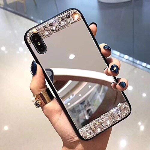 Shinyzone - Carcasa para Samsung Galaxy Note 20, diseño de brillantes y brillantes, hecha a mano, diseño de brillantes, color transparente