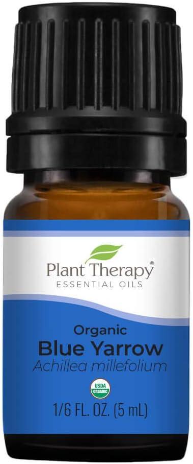 Plant Dedication Therapy Organic Blue Yarrow Essential Oil 6 Super popular specialty store oz ml 10 5 1