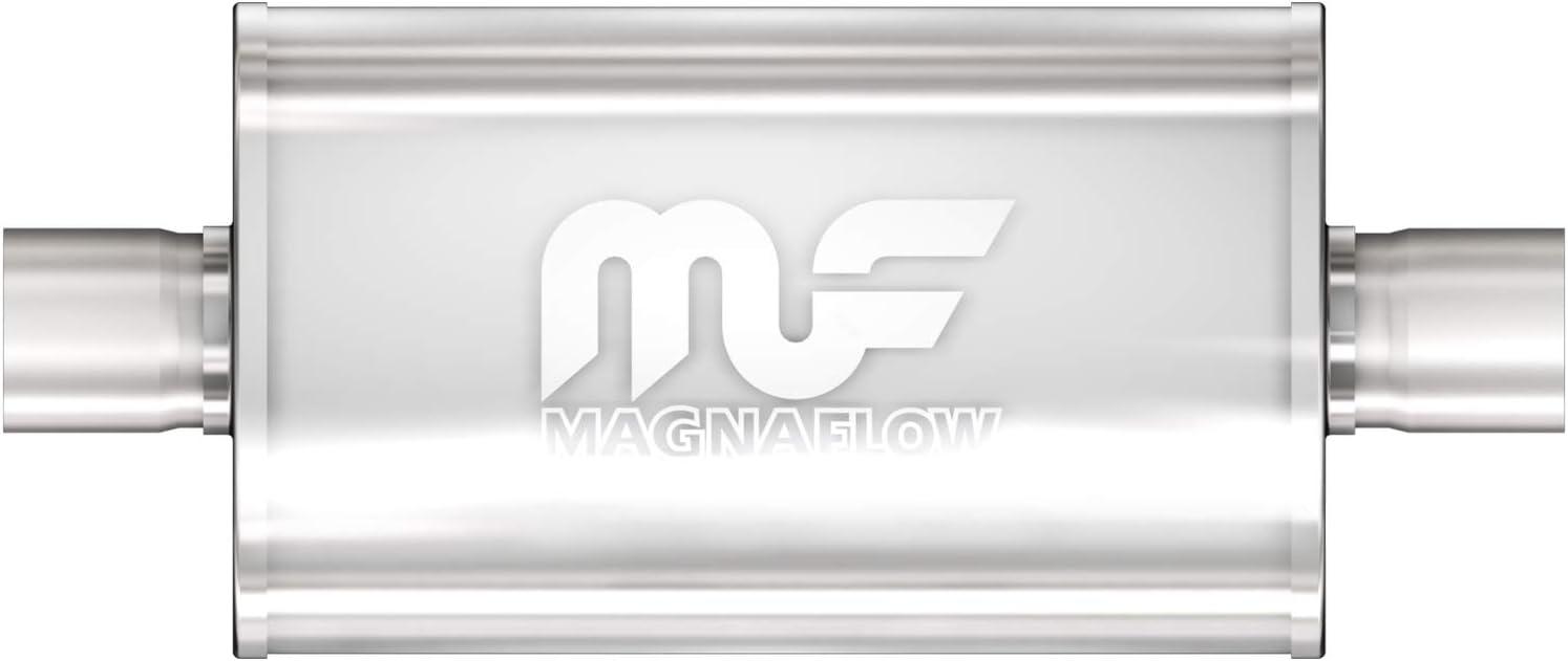 MagnaFlow 4in x 9in Oval Center/Offset Performance Muffler Exhau