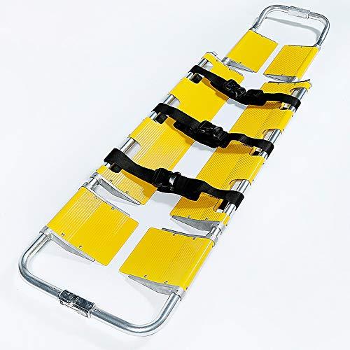 WDDMFR Leichte Schaufel-Bahre, tragbare Transporteinheit des Patienten-Bewegers, medizinische Krankenwagen-Schaufel der Plastikschaufel-Bahre in den Röntgenkopf-Halter