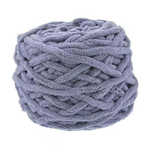 XINSHENG Store Farbe Schal handgestrickt Garn for Handstrick- weiche Milch Baumwollgarn Dicker Wollpullover (Farbe : 18)