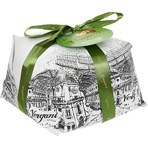 Vergani, Panettone Chocolate and Pears 'Le Antiche Ricette' - 1000 gr.