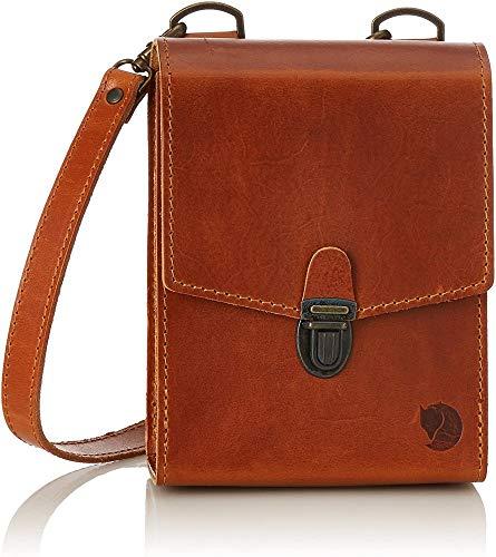 Fjällräven Herren Singi Bino Bag Aufbewahrungstasche Gürteltasche Fernglastasche, Leather Cognac, One Size