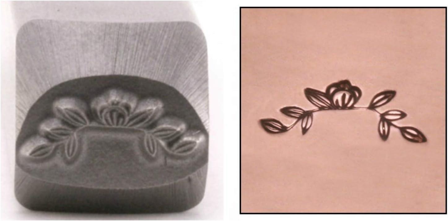 Magnolia Branch Metal Low price Design Stamp Flower 11mm Garden Pu Border Now on sale