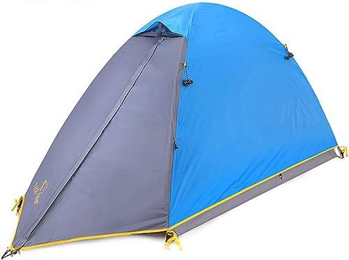 Roscloud Outdoor Tente individuelle Double Couche imperméable à l'eau et à Vide