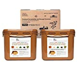 Authentic Crazy Korean Cooking Kimchi Container 0.9 Gal (3.4L) 2 PACK