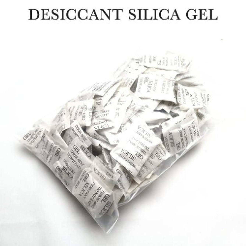 バーゲン縁黒くする【高品質】海外のおしゃれなシリカゲル 英語 Desiccant Silica gel 除湿 吸湿 乾燥剤 店舗 業務用 徳用 [輸入品] 2g (400個入り)